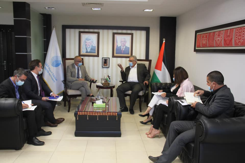 الوزير غنيم يبحث مع الاتحاد الأوروبي تطورات تنفيذ مشاريع المياه والصرف الصحي