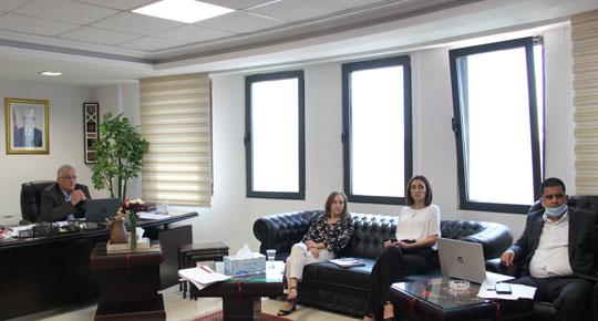 الوزير غنيم يبحث مع  البنك الدولي التطور في تنفيذ  المشاريع القائمة والمستقبلية