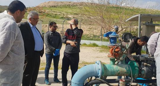 مواجهة فايروس كورونا ...غنيم: سلطة المياه تتخذ مجموعة اجراءات وقائية