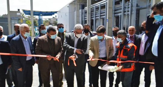 """دير البلح: افتتاح المرحلة الثالثة من محطة """"تحلية"""" الوسطى بقيمة 18 مليون دولار"""