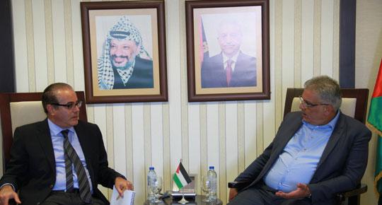 الوزير غنيم والبنك الدولي يبحثان التعاون المشترك