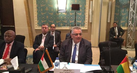 الدورة الرابعة للمؤتمر الإسلامي لوزراء المياه يصدر قرارات خاصةلدعم قطاع المياه الفلسطيني