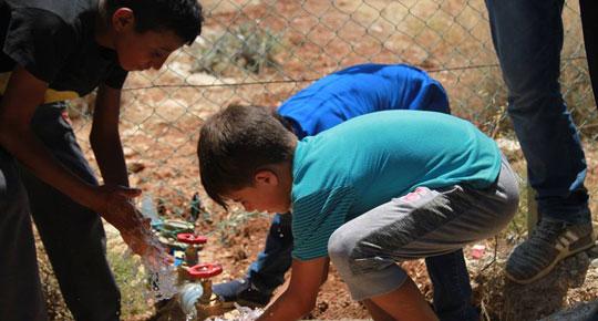 سلطة المياه الفلسطينية والجهاز المركزي للإحصاء الفلسطيني يصدران بياناً صحفياً مشتركاً  بمناسبة يوم المياه العالمي 22/03/2019