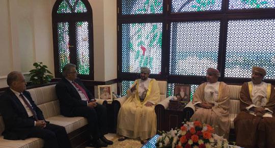 تعزيزا للعلاقات الثنائية بين البلدين في مجال المياه ... م. غنيم في زيارة رسمية لسلطنة عمان