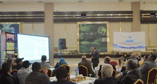 لخدمة مليون مواطن في وسط وجنوب غزة ...  سلطة المياه تناقش انطلاق المرحلة الأولى من مشروع الأعمال المصاحبة لمحطة التحلية المركزية
