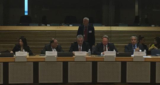 غنيم يدعو من بروكسل لتوفير بقية الدعم لتشغيل محطة التحلية المركزية بغزة