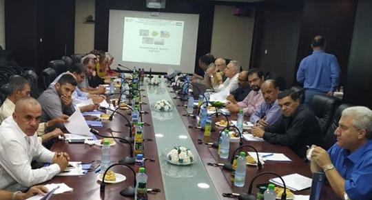 سلطة المياه تنظم ورشة العمل الثانية لدراسة جدوى مشروع صرف صحي شمال شرق رام الله
