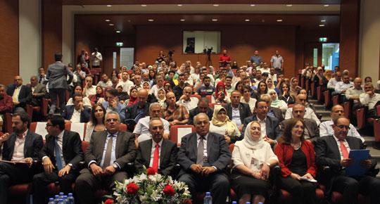 الوزير غنيم يطلق أعمال كرسي اليونسكو للادارة المستدامة للموارد المائية