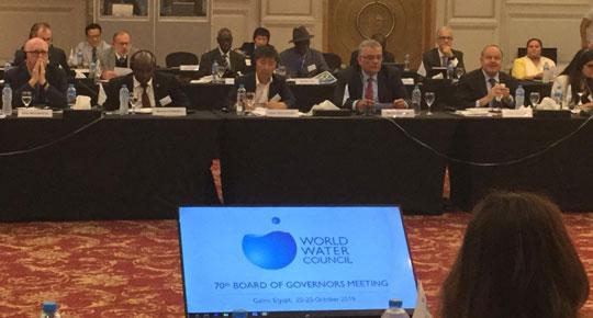 فلسطين تصبح عضواً في مجلس المياه العالمي