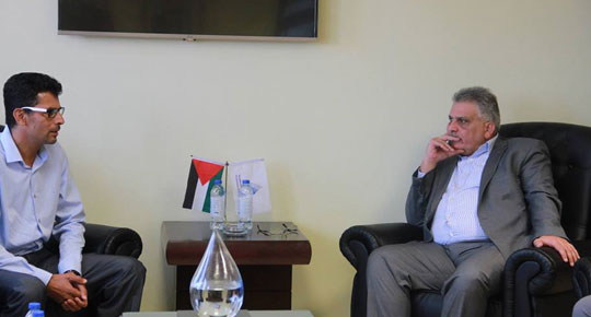 During his meeting with Faqqua Council, Eng.Ghoneim: we will implement water network project