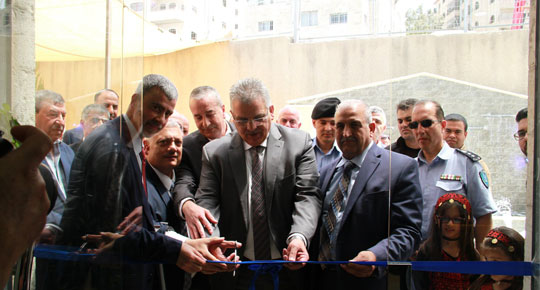 During the opening of the public services center in Kafr Aqab, Minister Ghoneim